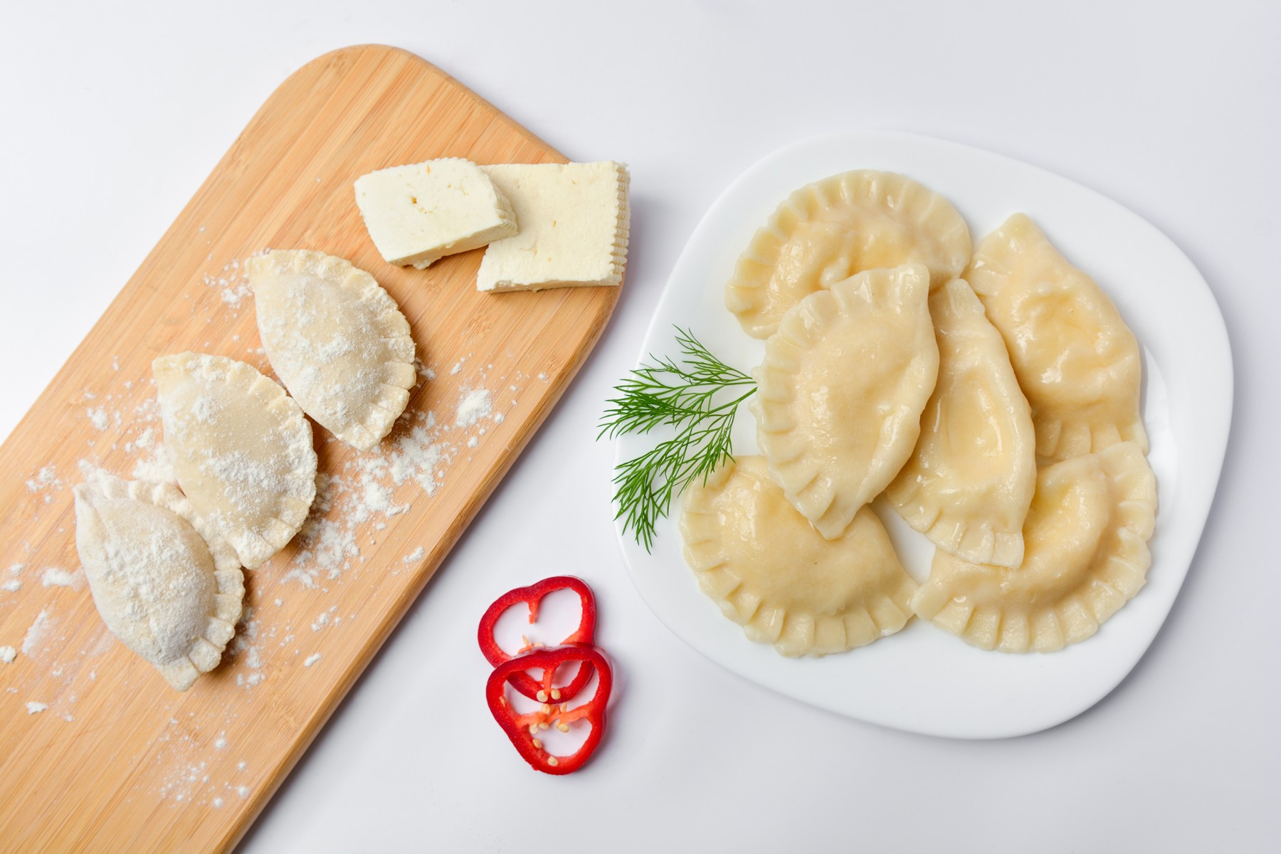 Pierogi with Cheese